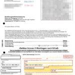 Rechung zu IBAN DE50110101015802338221