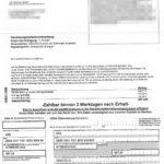 Rechnung zu IBAN DE69100110012622900494